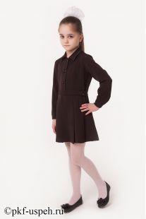 Школьное платье детское с длинным рукавом ПВ