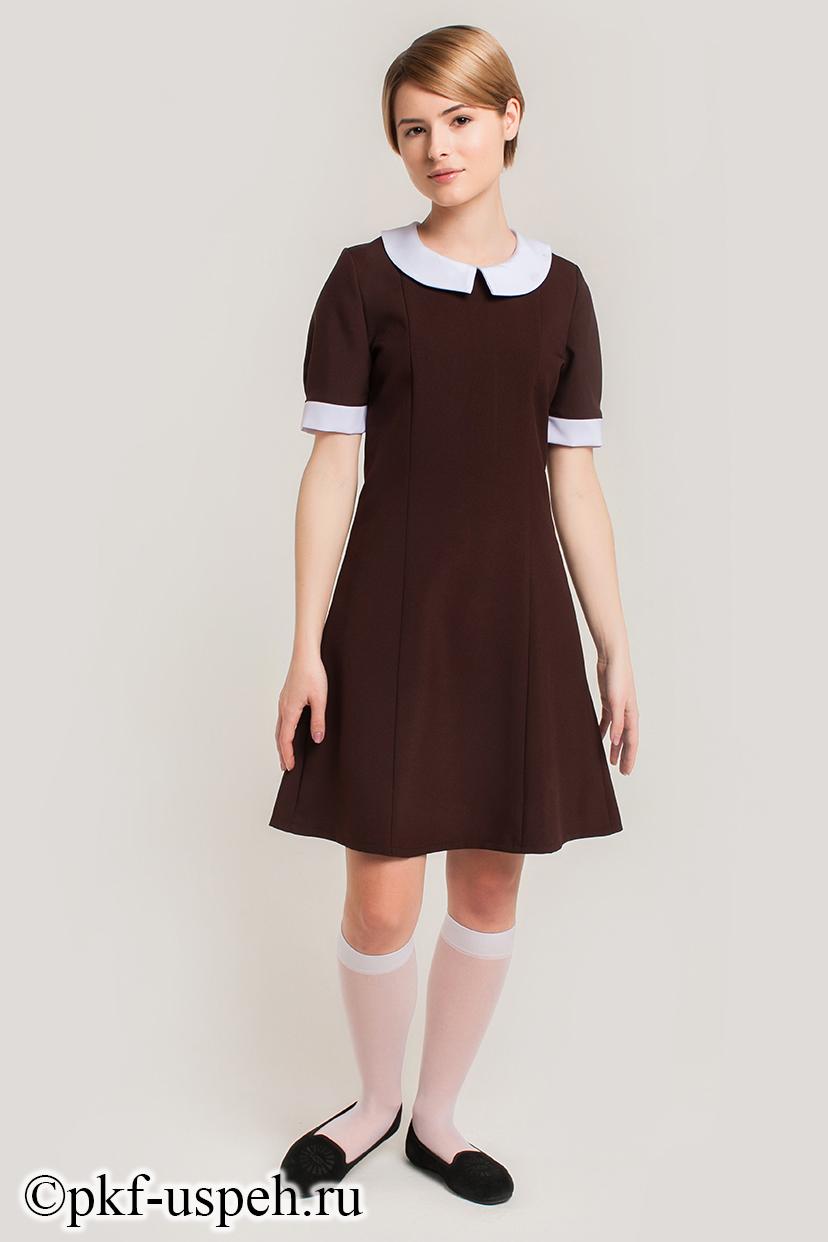 Школьное платье для девочки 11 лет
