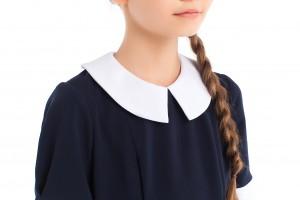 Новые модели синих платьев