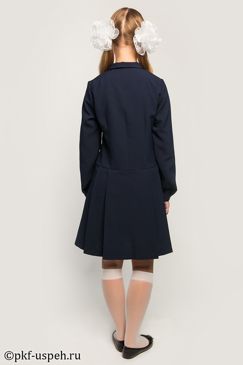 Серая юбка гофре на широкой резинке 9244