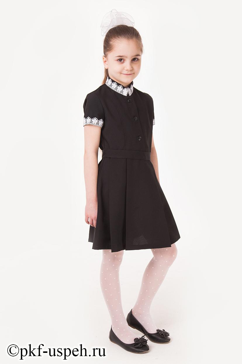 6551bd2b0bc Черные школьные платья купить в Москве по низкой цене в интернет ...