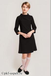 Платье школьное Ольга черное