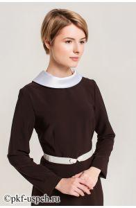 """Школьное платье """"Виктория"""" коричневое"""
