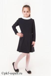 Платье школьное для девочки Ирина синее