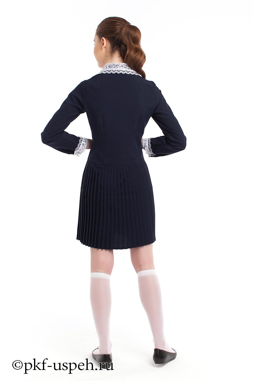 bd6c76ebb24 Платье школьное с воротником
