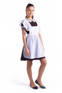 комплект платье с фартуком Грация