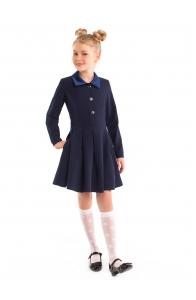 """Школьная форма платье """"Кира"""" синее"""