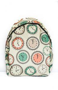 """Рюкзак молодёжный """"Часы"""""""