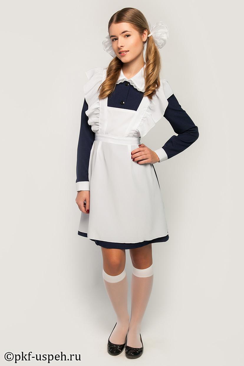 Школьное платье и фартук в уфе