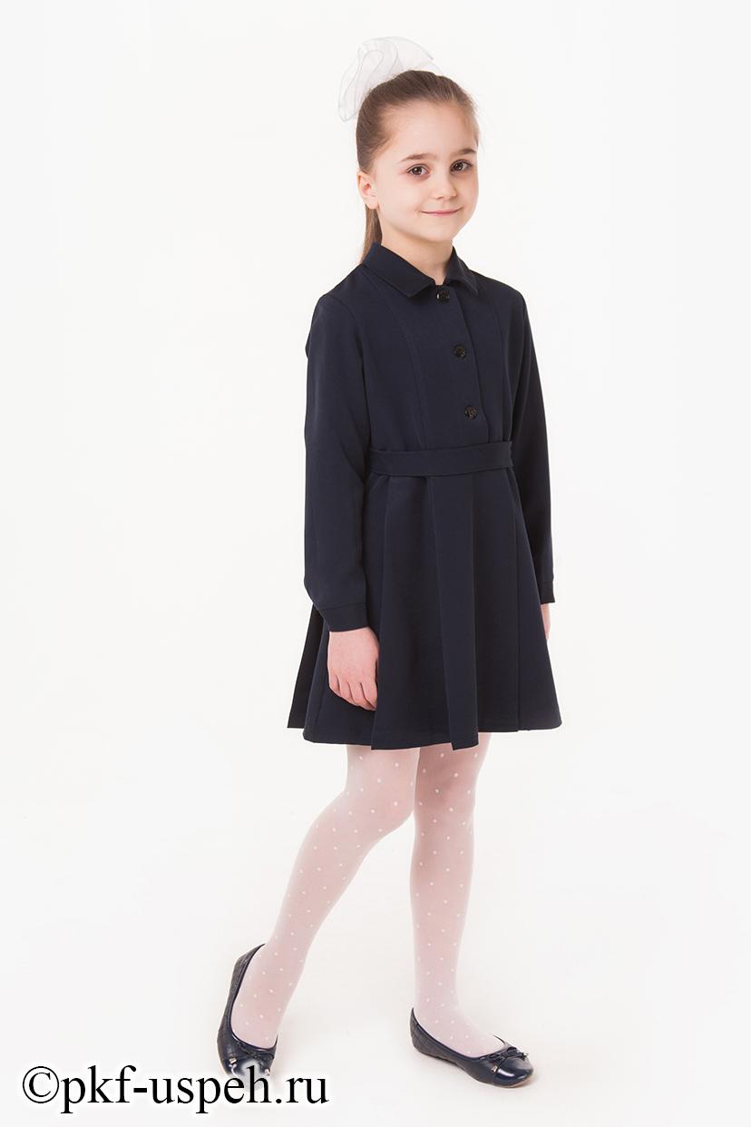 Купить школьное платье длинное