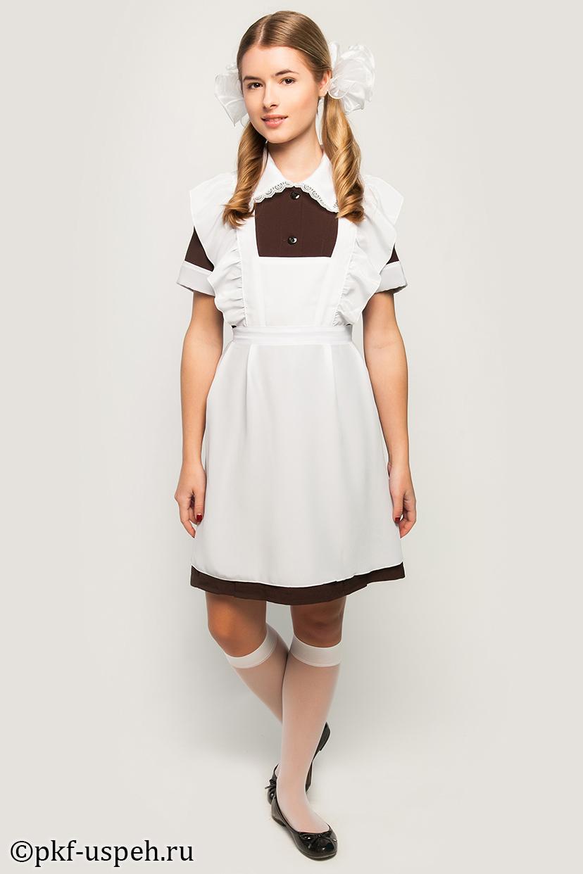 Школьная форма платье ссср