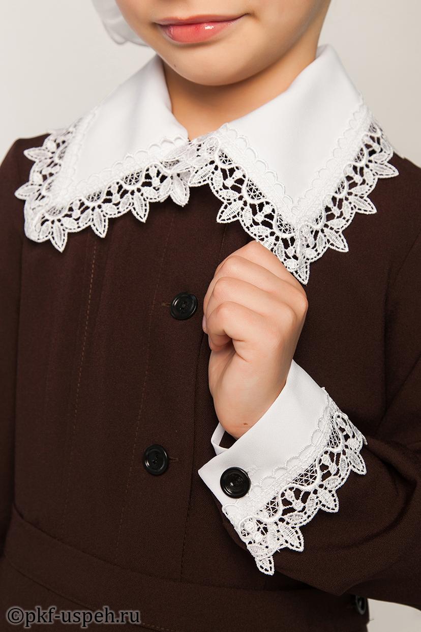 Воротнички и манжеты на школьное платье